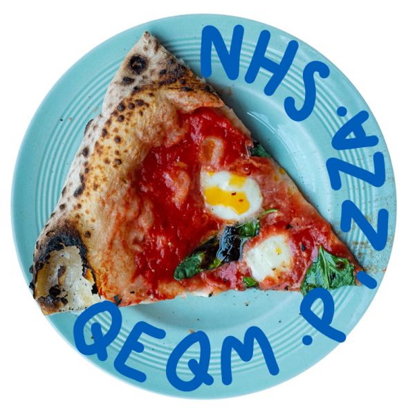 NHS QEQM Coronavirus Covid-19 Pizza. Ralph's Margate Sourdough Pizza