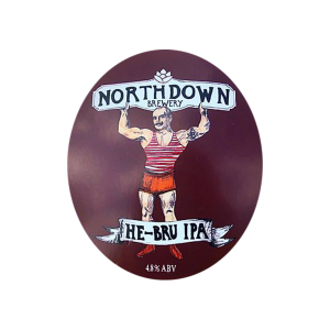 He-Bru IPA Northdown Brewery