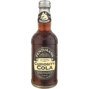 Fentimans Curiosity Cola is a botanically brewed carbonated cola soft drink, a product of British brewery Fentimans